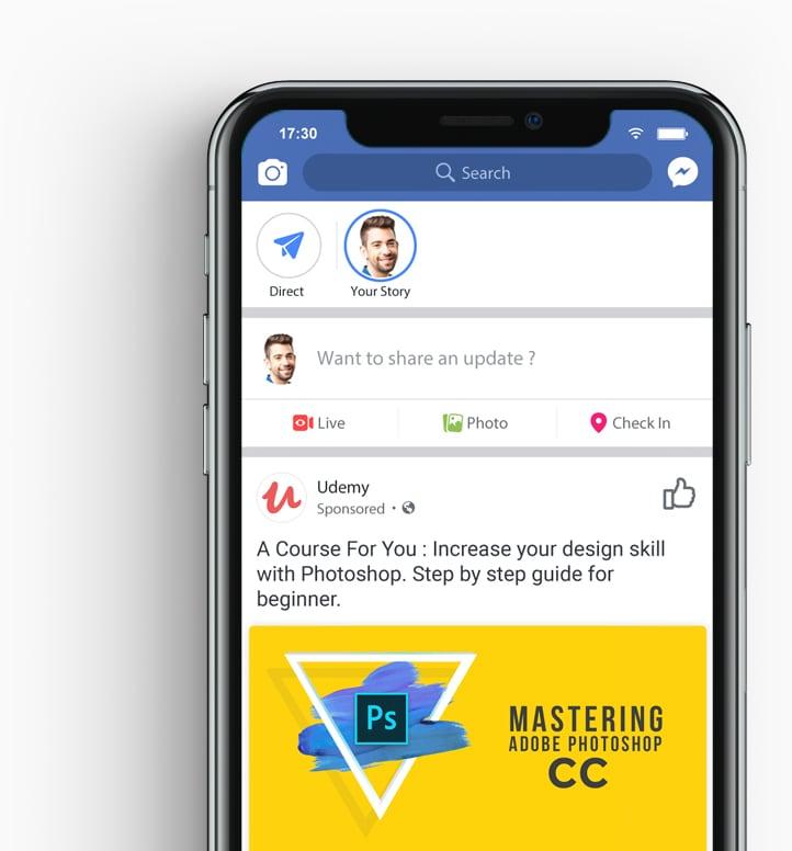 case study udemy facebook iphone kiebrothers