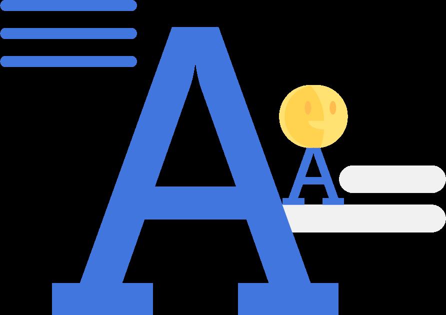 typography illustration kiebrothers tiny