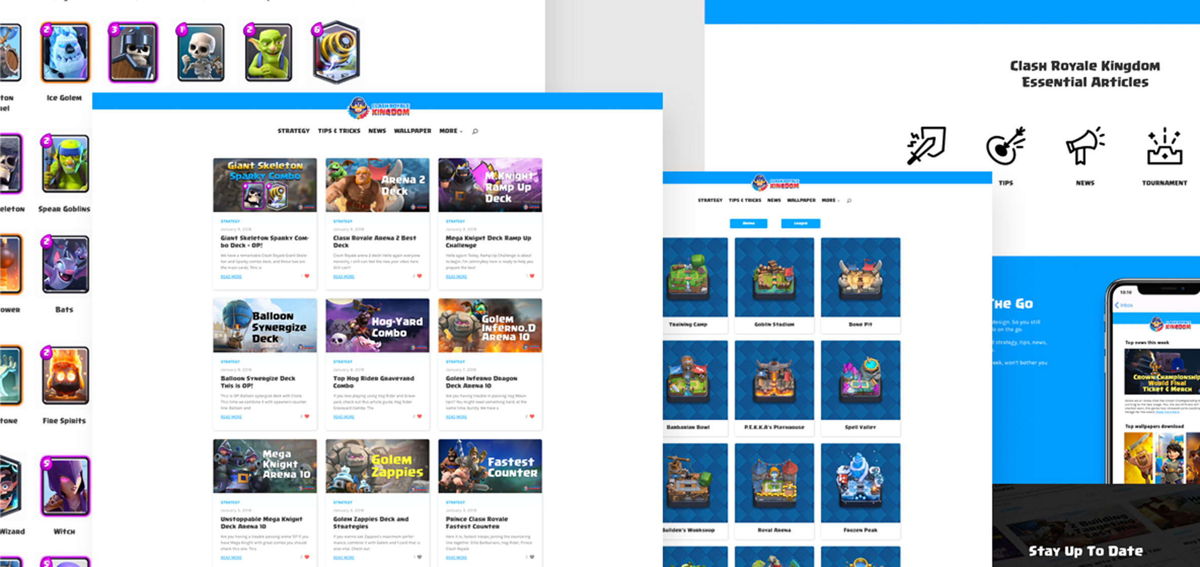 case study clash royale kingdom webpage preview kiebrothers